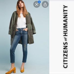 COH Cara High Rise Cigarette Ankle Jeans